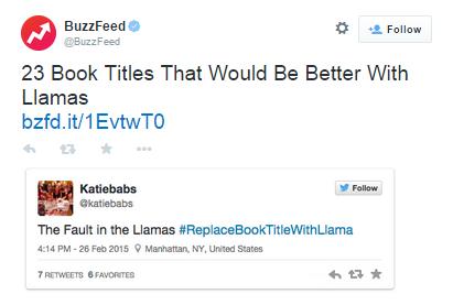 llama blog - books