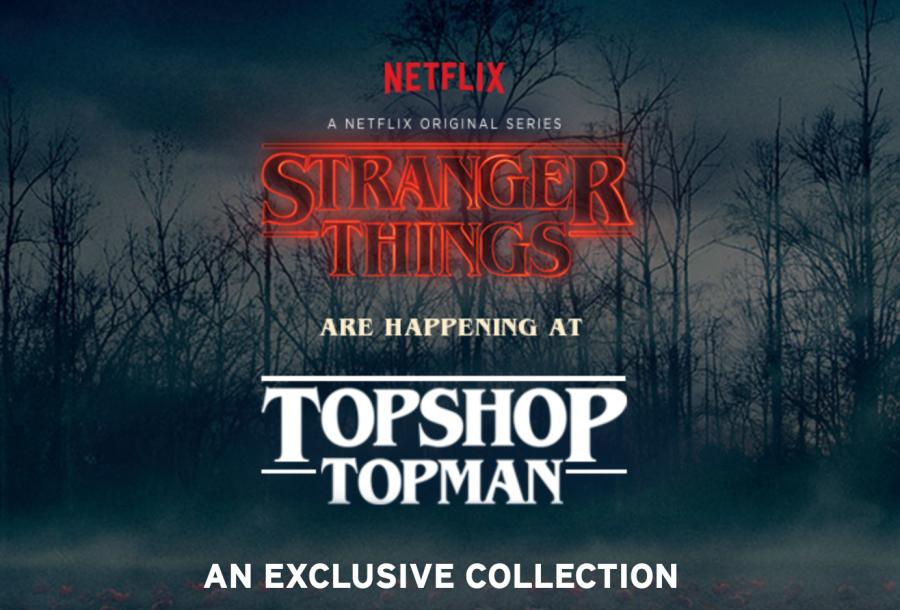 Topshop Stranger Things